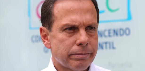 João Doria visita hospital em São Paulo nesta sexta (24) durante agenda de campanha