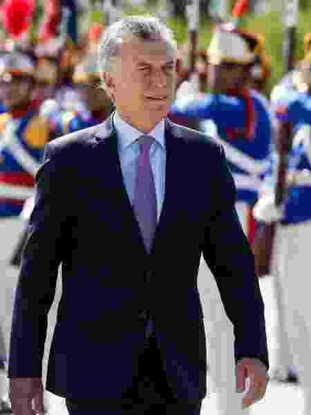 O presidente da Argentina, Mauricio Macri - Walterson Rosa/Estadão Conteúdo