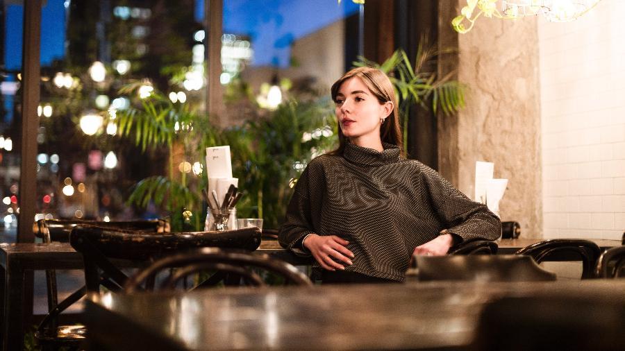 Salomé Zimmerlin, modelo francesa e estudante de economia que criou sua própria grife unissex, em Montreal - Annie Sakkab/The New York Times
