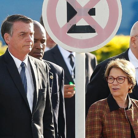 O presidente da República, Jair Bolsonaro, e a ministra da Agricultura, Tereza Cristina, apresentarão hoje a MP - DIDA SAMPAIO/ESTADÃO CONTEÚDO