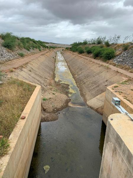 1º.ago.2019 - Canal da transposição do rio São Francisco - Divulgação/MPF