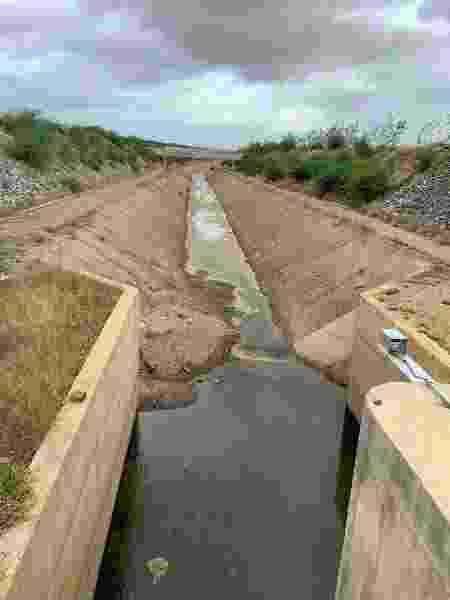 Canal da transposição do rio São Francisco - Divulgação/MPF