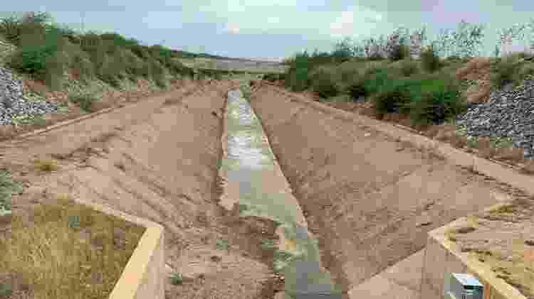 Canal da transposição do rio São Francisco na Paraíba apresenta problemas estruturais, segundo MPF  - Divulgação/MPF