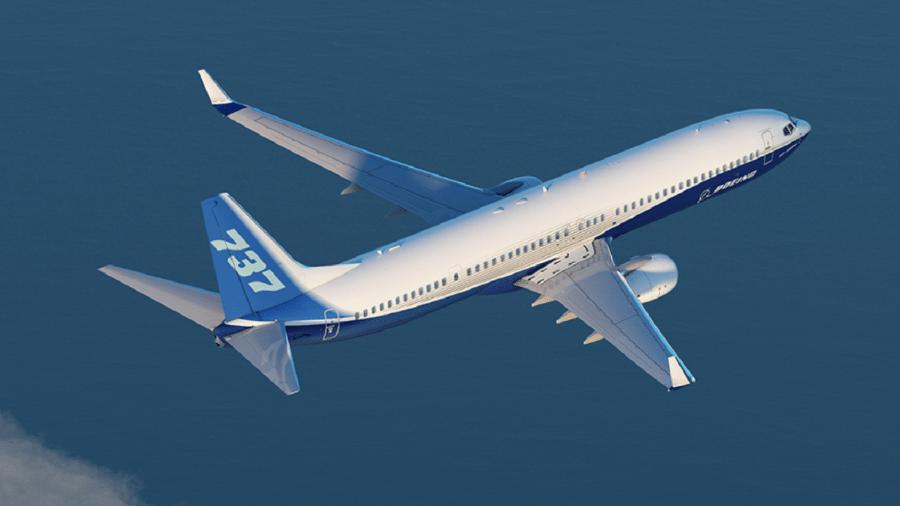 Cerca de 50 aeronaves do modelo 737 NG da Boeing apresentaram fissuras - Divulgação