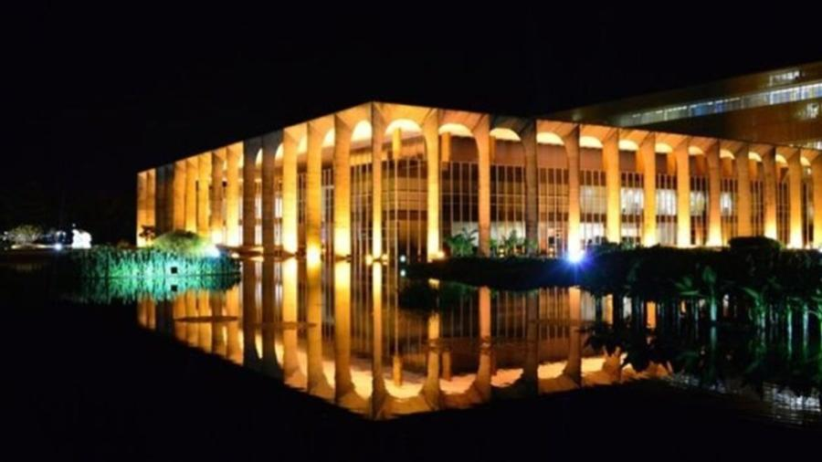 O Palácio Itamaraty, em Brasília - Getty Images