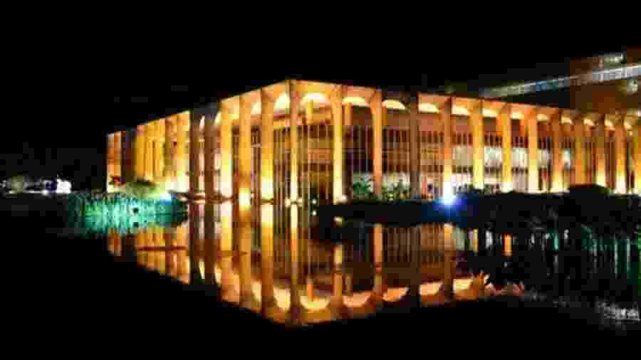 Palácio Itamaraty, em Brasília - Getty Images