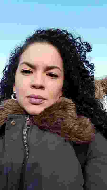 A jornalista Mirthyani Bezerra em Dublin - Arquivo pessoal - Arquivo pessoal