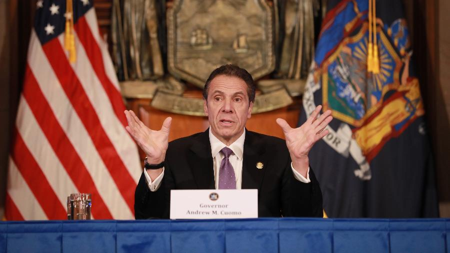 Andrew Cuomo, governador do estado de Nova York - Matthew Cavanaugh/Getty Images