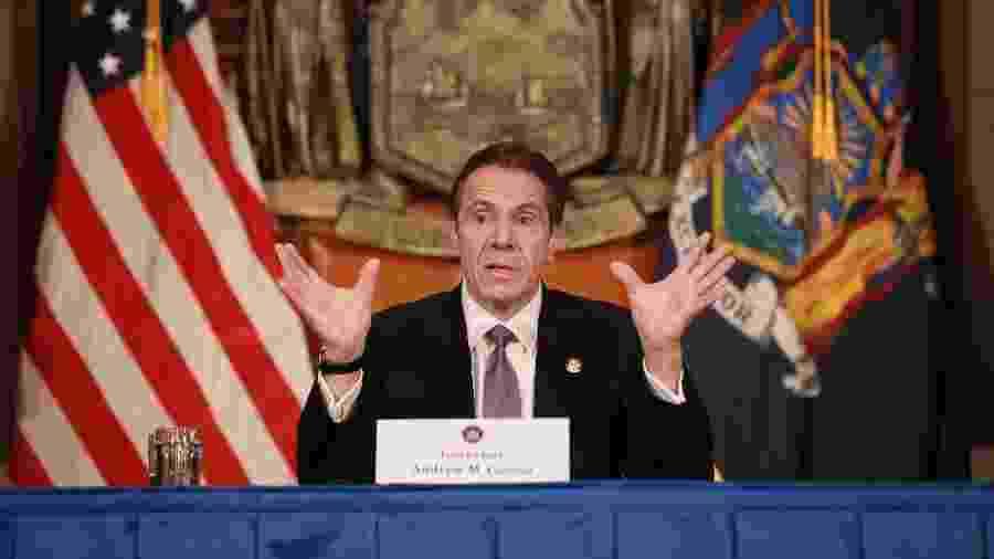 Andrew Cuomo, governador do estado de Nova York - Matthew Cavanaugh/Getty Images