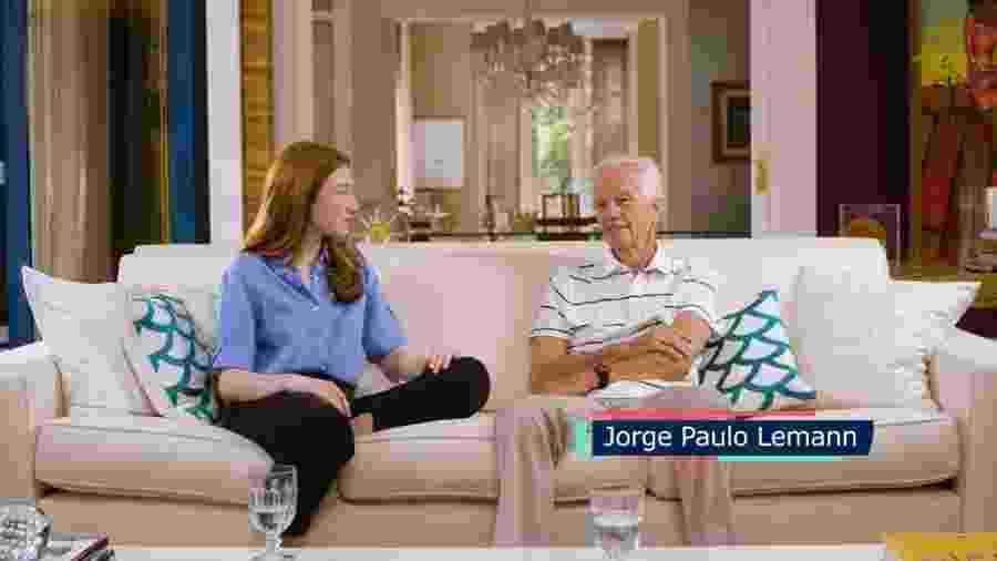 Jorge Paulo Lemann em entrevista a canal do Youtube - Reprodução