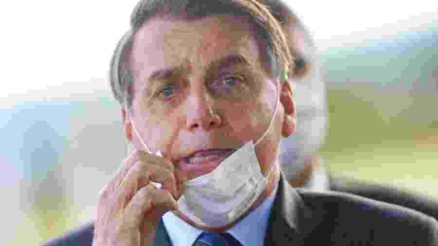 O presidente Jair Bolsonaro (sem partido) - ADRIANO MACHADO