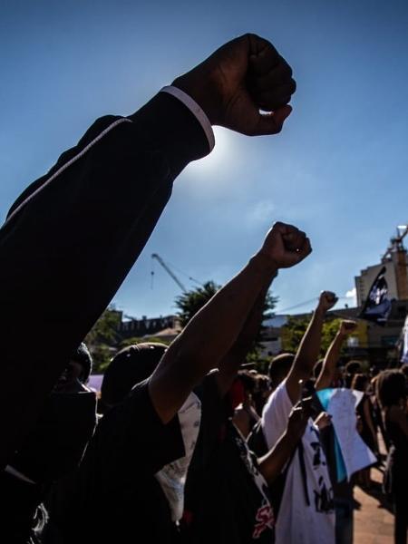 Ato pró-democracia em São Paulo - TABA BENEDICTO/ESTADÃO CONTEÚDO