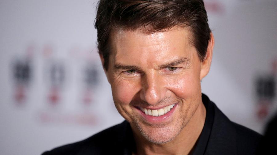 Tom Cruise durante entrevista coletiva em Pequim, em 2020 - Reuters
