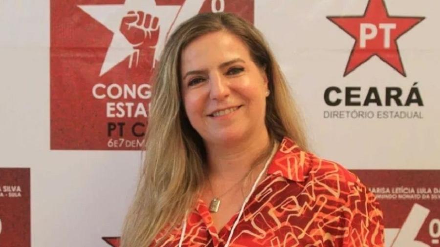 Luizianne Lins (PT-CE), deputada federal e pré-candidata a prefeita de Fortaleza, disse que Ciro Gomes é enlouquecido e descarta uma união nas eleições - Reprodução/Facebook