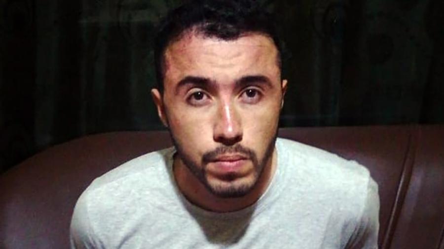 Giovanni Barbosa da Silva, conhecido como Coringa. Prisão dele revelou esquema envolvendo mais de 100 integrantes do PCC na fronteira com o Paraguai - Polícia Nacional do Paraguai