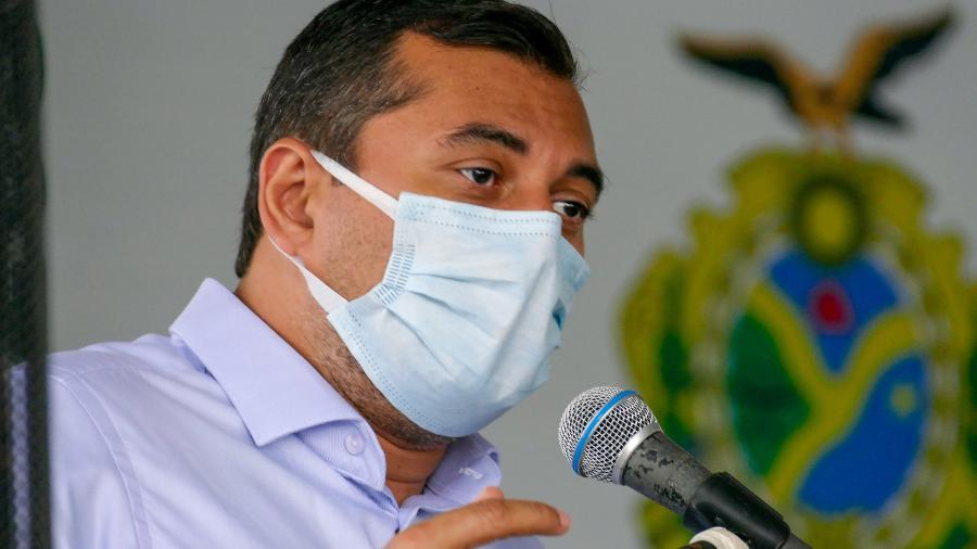 O governador do Amazonas, Wilson Lima (PSC), pediu a exoneração do funcionário e anunciou atitude nas redes sociais - Sandro Pereira/Fotoarena/Estadão Conteúdo