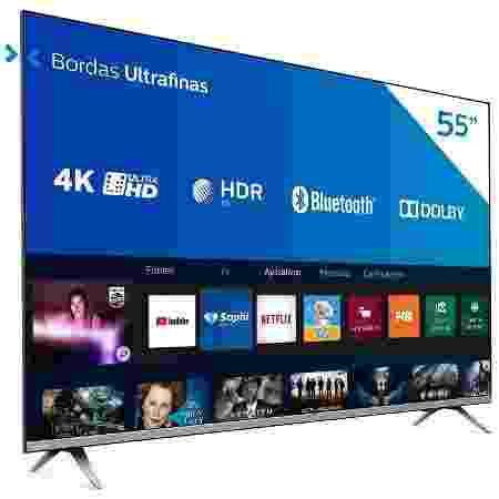 Smart TV 55 4K Philips UHD 55PUG6654 - Divulgação - Divulgação
