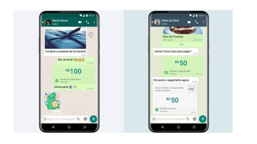 WhatsApp libera transferência de dinheiro no Brasil pelo serviço, mas ainda não para todo mundo - Divulgação
