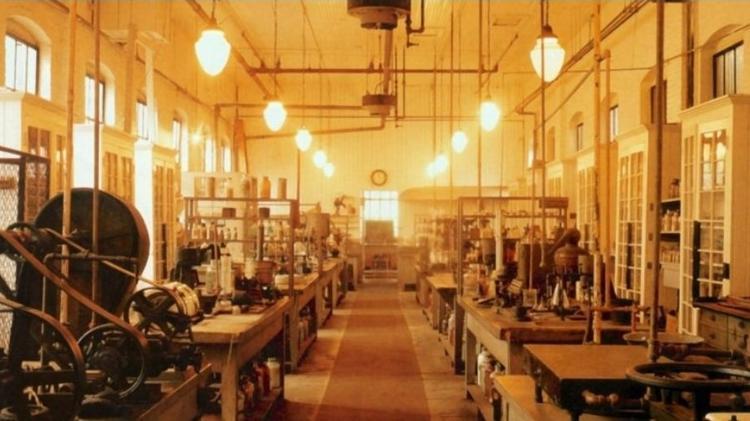 O laboratório de Thomas Edison, em Nova Jersey, foi o local de nascimento de muitas de suas invenções - Alamy - Alamy