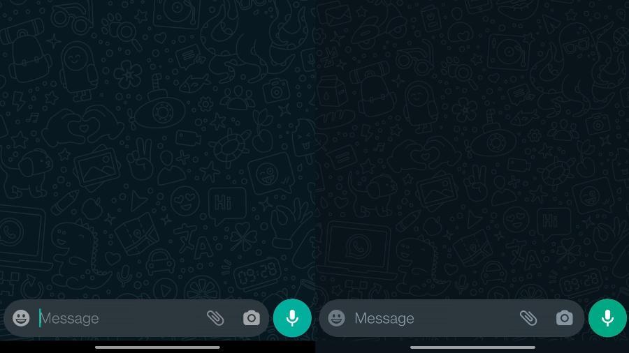 Mudança de cor no WhatsApp Beta - Reprodução/WABetaInfo
