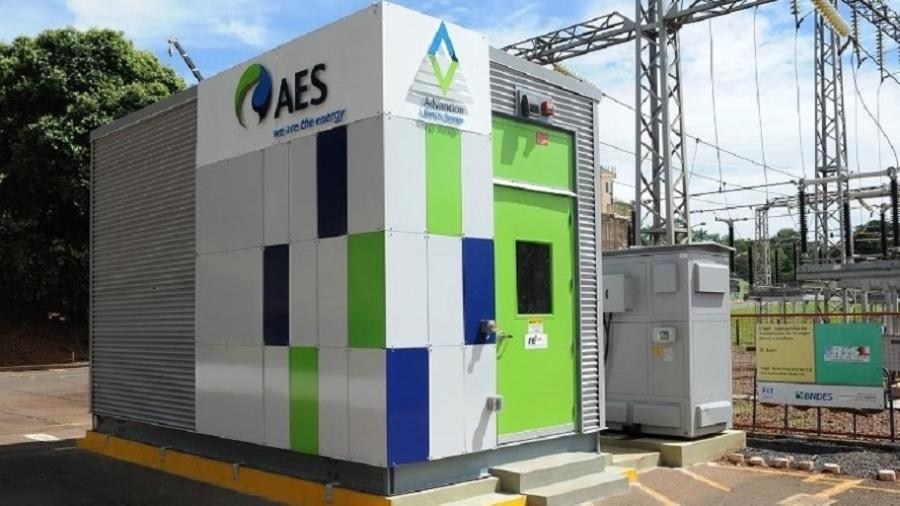 Instalação da AES Brasil; principal acionária da empresa é a norte-americana AES Corp - Divulgação/AES Brasil