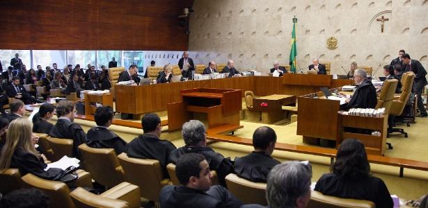 O plenário do Supremo Tribunal Federal (STF)