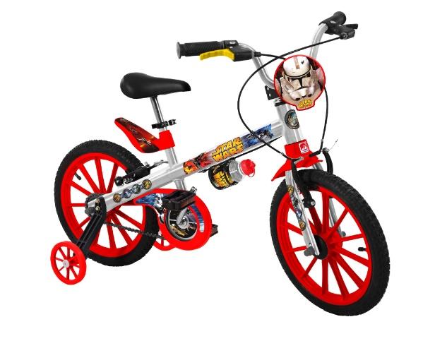 Bicicleta 16 Star Wars, da Brinquedos Bandeirante