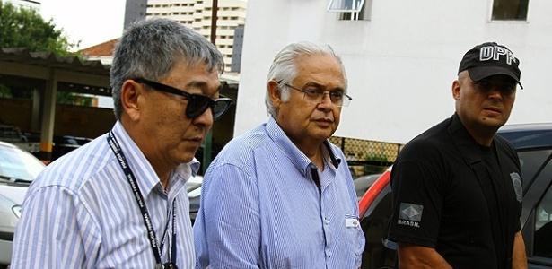 Pedro Corrêa (centro) foi condenado na Lava Jato a 29 anos de prisão