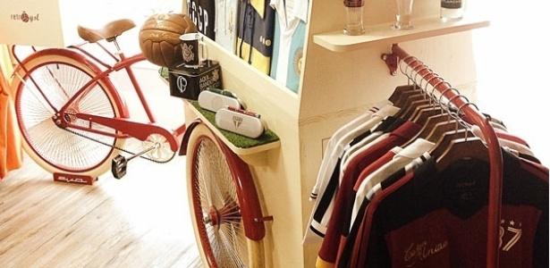 Bikes personalizadas também são usadas para vender produtos