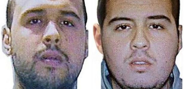Imagem divulgada pela Interpol identifica os irmãos Bakraoui, autores dos ataques em Bruxelas