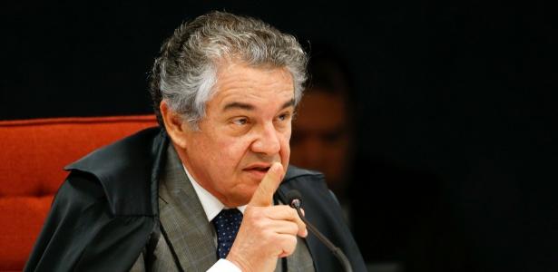 O ministro do STF Marco Aurélio Mello, que deu liminar afastando Renan Calheiros (PMDB-AL) da presidência do Senado