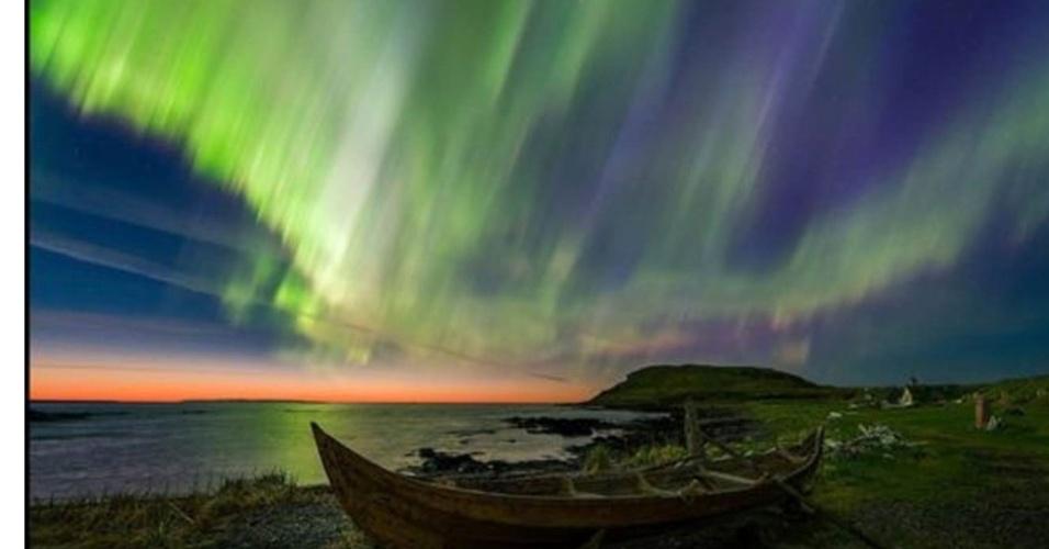 28.jun.2016 - O vencedor na categoria Beleza foi Adam Woodworth, dos EUA, com essa foto tirada em Newfoundland, no Canadá