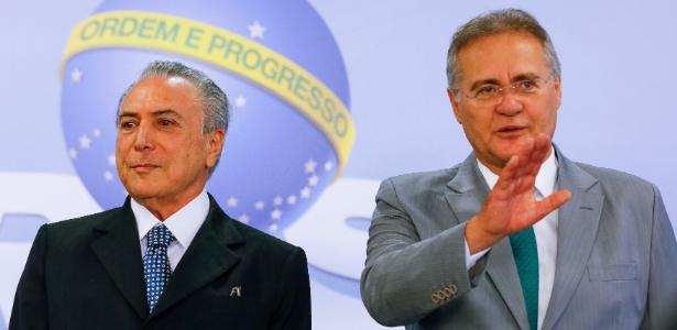 Após encontro com Temer, Renan não diz se irá se abster em impeachment - Marcos Corrêa/ PR