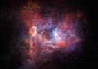 Telescópio Alma encontra poeira estelar mais antiga do Universo - ESO/M. Kornmesser