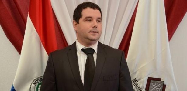 Procurador paraguaio Hugo Volpe recebeu ameaça de morte em programa de rádio - Ministério Público do Paraguai