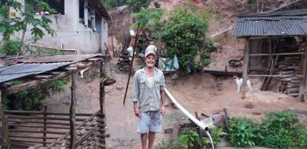 João Elói passou quase um ano sem energia elétrica em Paracatu, para onde voltou um mês e meio depois do desastre