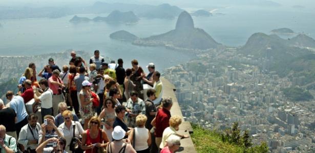Turistas no Rio de Janeiro