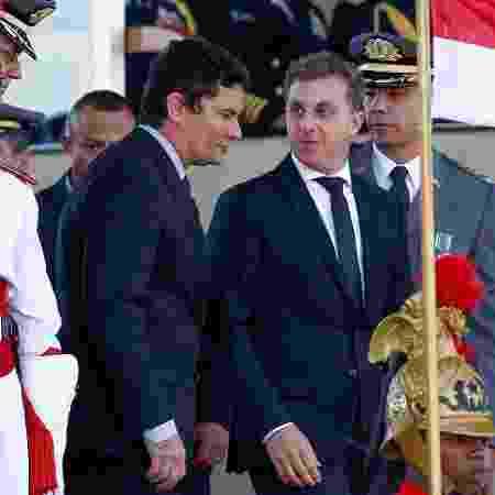 Arquivo - Encontro entre Huck e Moro foi visto com ressalvas pelos conselheiros e articuladores do projeto eleitoral do apresentador - Pedro Ladeira/Folhapress