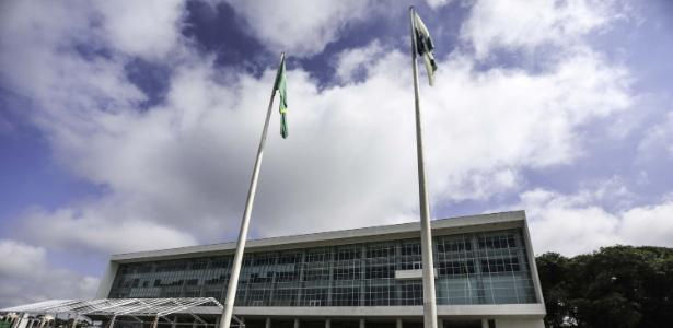 PF cumpriu mandado de busca e apreensão no palácio Iguaçu, sede do governo do PR - Joka Madruga/Futura Press/Estadão Conteúdo