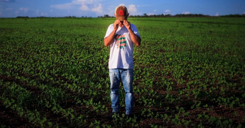 Raimundo Ribeiro da Silva é um dos colonos da comunidade de serra do Centro, em Tocantins