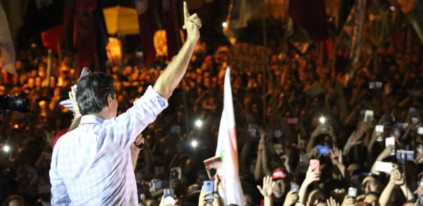 Haddad participa de ato de campanha em Recife, onde teve mais de 52% dos votos