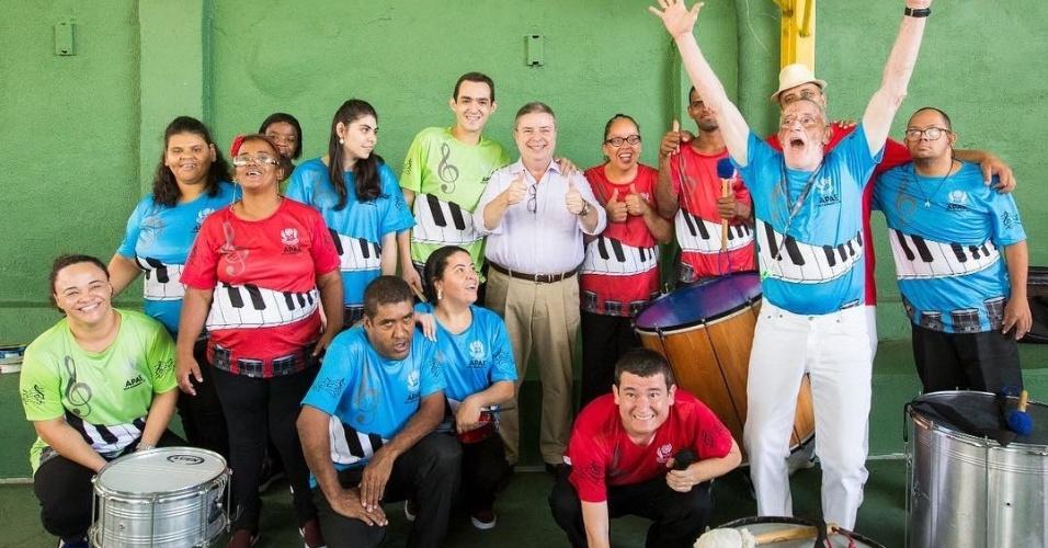 17.out.2018 antonio anastasia visita Apae de Belo Horizonte