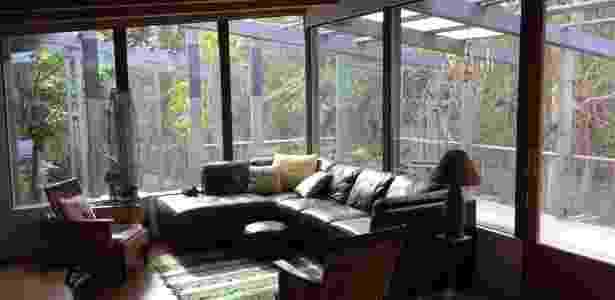 A casa da brasileira Luiza Black, na Califórnia, antes do incêndio - Arquivo pessoal - Arquivo pessoal