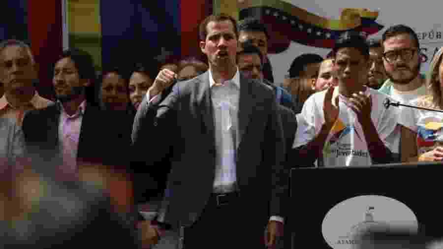 Juan Guaidó, deputado opositor venezuelano - Reprodução/Twitter