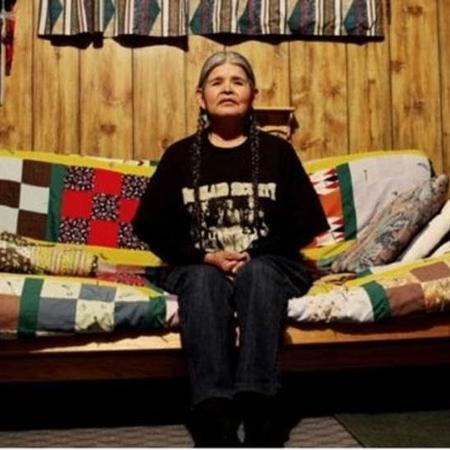 Jean Whitehorse foi uma das mulheres esterelizadas contra a sua vontade nos EUA - Lorna Tucker/BBC