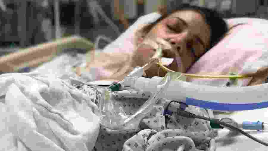 Alin Gragossian recebeu um transplante de coração em janeiro de 2019 - Alin Gragossian/BBC