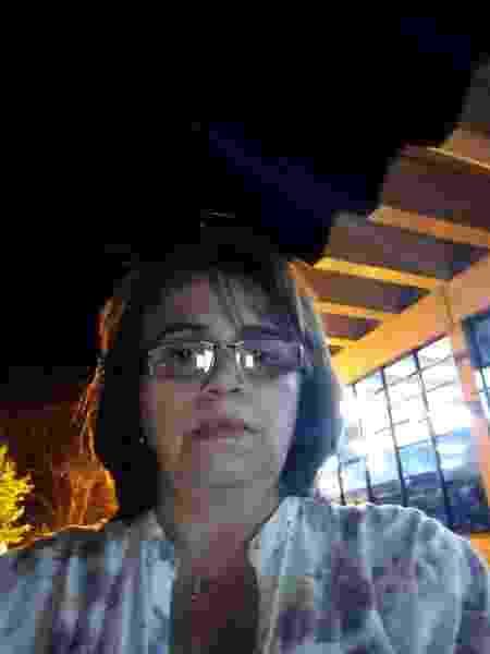 Denise Cristina de Souza Lima, que mora na área que pode ser atingida por rejeitos em caso de rompimento da barragem - Arquivo pessoal