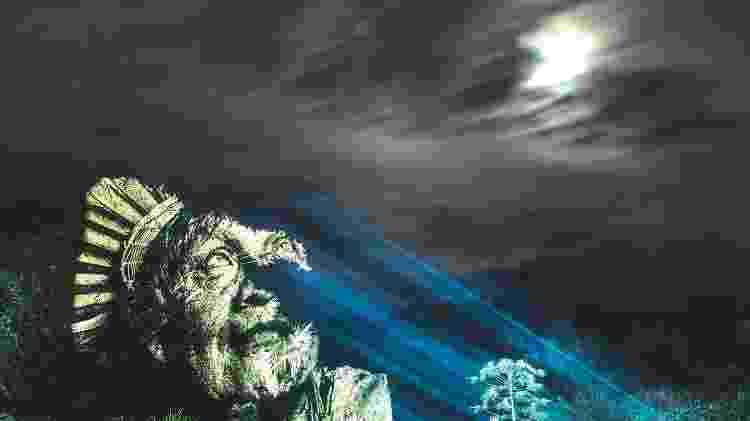 Jaci era a deusa da Lua na lenda tupi - Reprodução