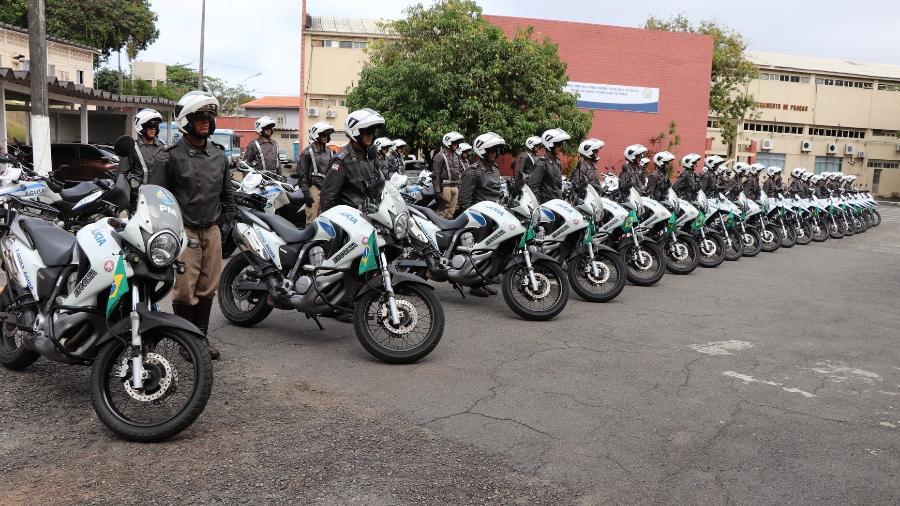 Policiais Militares da Bahia - Divulgação/Polícia Militar da Bahia