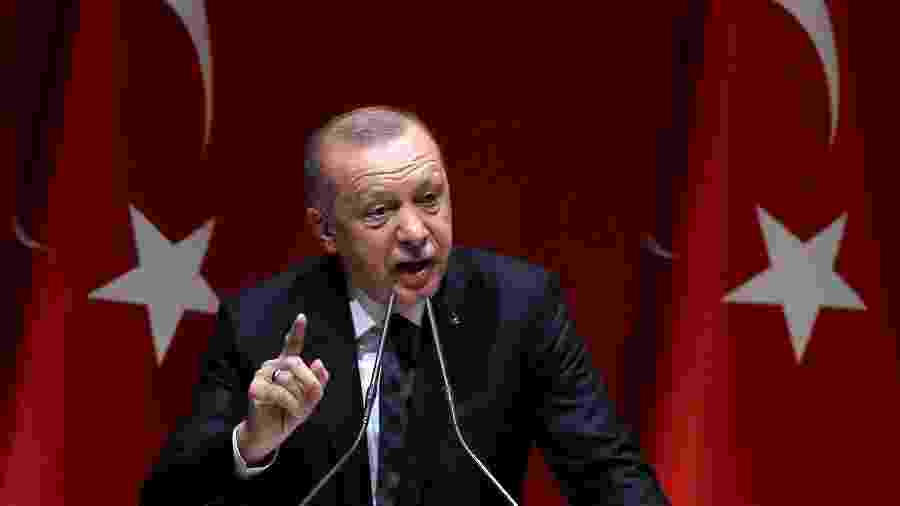 O presidente da Turquia, Recep Tayyip Erdogan - Adem Altan/AFP